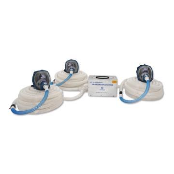 海固 智能型彩屏三人电动送风式长管呼吸器,HG-DHZK12AH3.0A-Q3