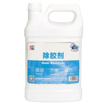 蓝色强力除胶剂,4kg/桶 4桶/箱 单位:桶