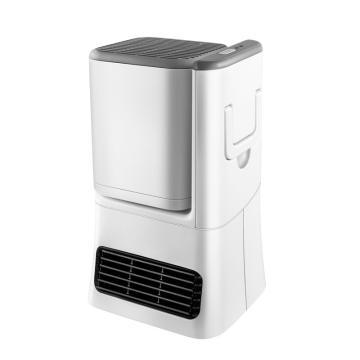 艾美特 冷暖两用暖风机,HP10141M-W,风扇档10W/20W,暖风档500W/1000W,220V