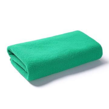 小方巾,纤维小毛巾 30x30绿色