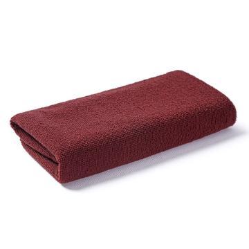 小方巾,纤维小毛巾 30x30棕色