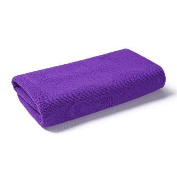 小方巾,纤维小毛巾 30x30紫色