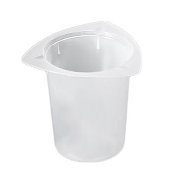 三角量杯,50ml,PP,耐高温高压,三处倾倒口,在循环使用或者一次性使用,25个/袋,4袋/箱