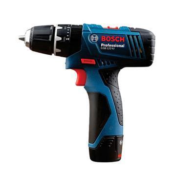 博世BOSCH 锂电充电式冲击钻,GSB 120 双电版,新款,06019G8180