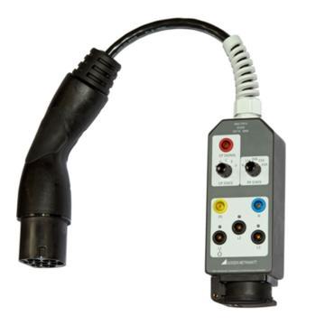 德国高美测仪/GMC-I 充电桩安规测试用TypeII 适配器,PRO-TYP II