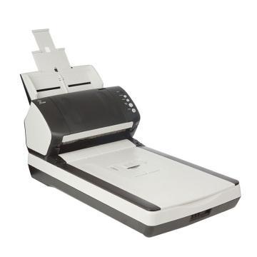 富士通 扫描仪,FI-7240高速双面自动平板+馈纸式文档图像