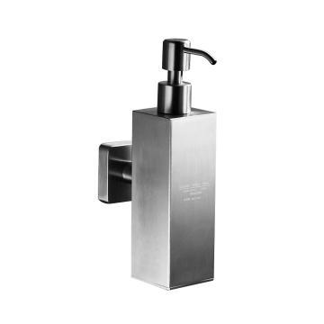 西铂莱恩 皂液器,B款方形304拉丝壁挂式