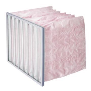 国微华芯 铝框中效袋式过滤器,宽*高*厚(含板厚)290*290*300mm,过滤F5,板厚21mm,袋数3个,袋长300mm