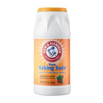 艾禾美(ARM&HAMMER) 小苏打摇摇瓶,多用途小苏打粉 居家清洁摇摇瓶 美国进口 340g 单位:支