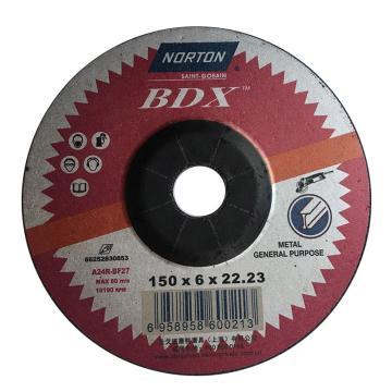 诺顿BDX角磨片,通用型,150x6x22.2