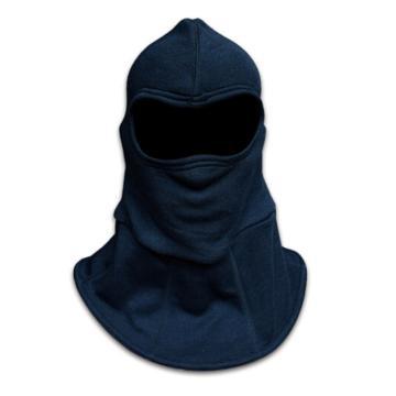 消防员灭火防护头罩,藏青色
