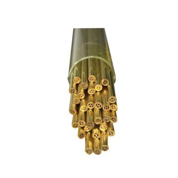 西域推荐火花机多孔黄铜电极,Φ1.85×500
