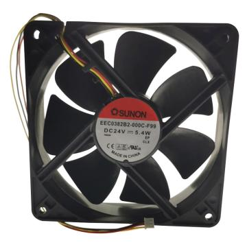 建准 散热风扇(120×120×38mm),EEC0382B2-000C-F99,5.4W,DC24V