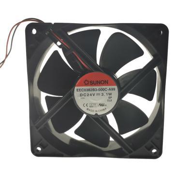 建准 散热风扇(120×120×38mm),EEC0382B3-000C-A99,3.1W,DC24V
