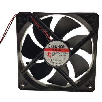 建准 散热风扇(120×120×25mm),MEC0251V1-000C-A99,5.4W,DC12V