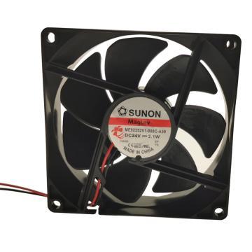 建准 散热风扇(92×92×25mm),ME92252V1-000C-A99,2.1W,DC24V