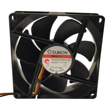 建准 散热风扇(92×92×25mm),ME92252V1-000C-G99,2.1W,DC24V