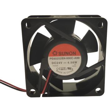 建准 散热风扇(60×60×25mm),PE60252BX-000C-A99,4.56W,DC24V