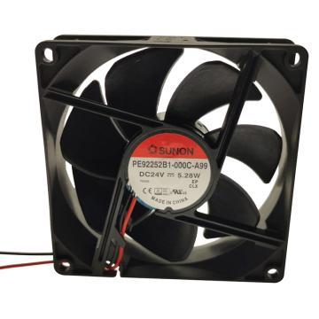 建准 散热风扇(92×92×25mm),PE92252B1-000C-A99,5.28W,DC24V