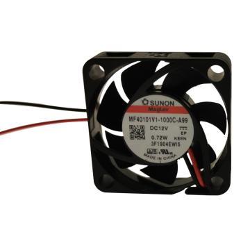 建准 散热风扇(40×40×10mm),MF40101V1-1000C-A99,0.72W,DC12V