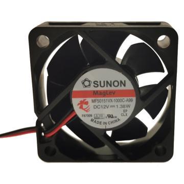 建准 散热风扇(50×50×15mm),MF50151VX-1000C-A99,1.38W,DC12V