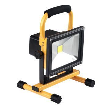 眾朗星 便攜式充電工作燈 手提充電泛光燈 ZL8017 黃光20W LED,單位:個