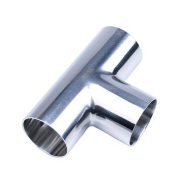 西域推荐 不锈钢304焊接三通镜面|φ51*1.5|P0208.51