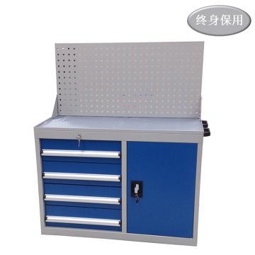Raxwell 门抽组合工具柜,尺寸(长*宽*高mm): 1000*500*1180,RHTC0009