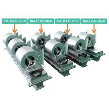 绿岛风 大风量离心式热风幕机(PTC电热型),RM-2510L-3D-D,380V,3200m3/h。不含安装