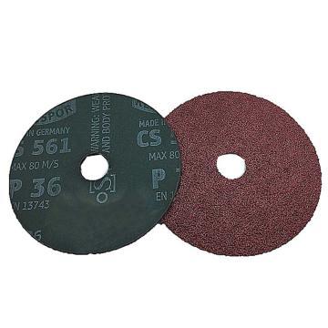 金士博 CS561钢纸打磨片, 125X22MM,40#,圆孔
