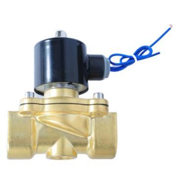 埃美柯/AMICO 黄铜电磁阀,J011X-10T DN32,直动式,常闭型,220v,758型