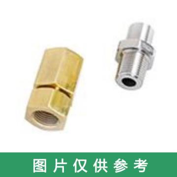 华理管接头型夹持器,DN25,316L,与标准螺纹管接头配合使用,可根据参数调整报价