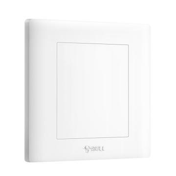 公牛/BULL 开关面板白板86型白色暗装白板,GN-G32B101