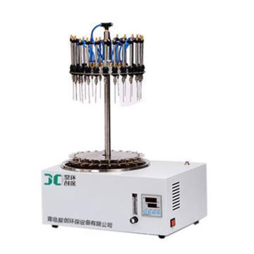 聚创环保 圆形水浴氮吹仪(圆形水浴加热,12位。可独立调节),JC-WD-12 A040206-01