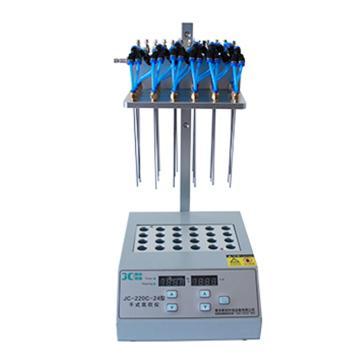 聚创环保 干式氮吹仪(干式加热,单模块,可独立调节流量),JC-220C-12 A040204-01