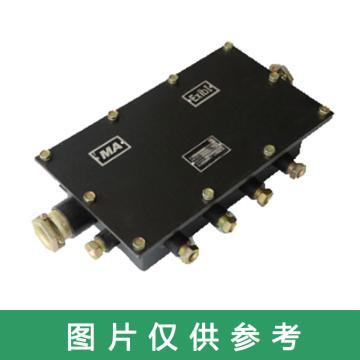 华通,跑车防护装置用本质安全型分线箱,JHH-40(A),煤安证号MAB100068,单位:件
