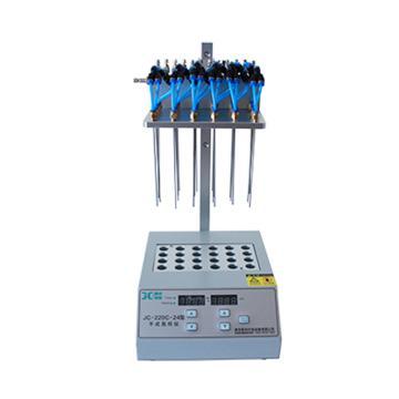 聚创环保 干式氮吹仪(干式加热,双模块,可独立调节流量),JC-220C-24 A040204-02