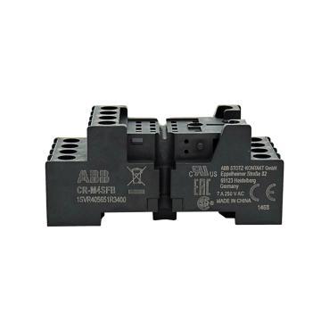 ABB 插拔式中间继电器底座 CR-M2SFB