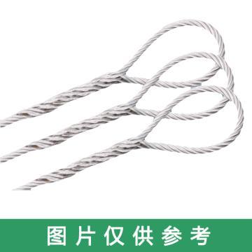 巨力 插编钢丝绳索具(麻芯),光面有油WDF12*1m