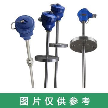 上仪 铠装铂电阻,WZPK2-166S 100mm A级 双支