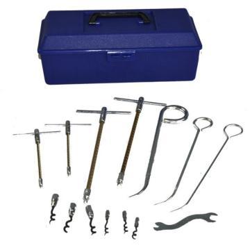 西班牙标牌/BELPA,KA-1盘根安装工具11件套