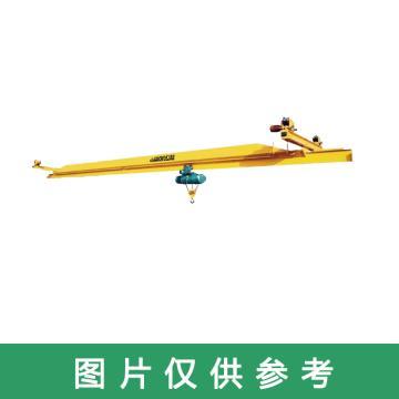 矿源 LX型电动单梁悬挂起重机,额定载荷(吨):1 跨度(m):3,LX型1T 3M