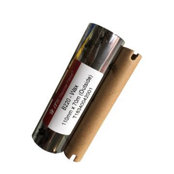 依工(ITW) B220 110mm*70M 蜡基碳带