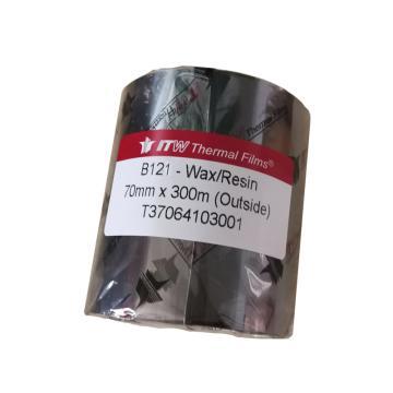 依工(ITW) B121 70mm*300M 混合基碳带