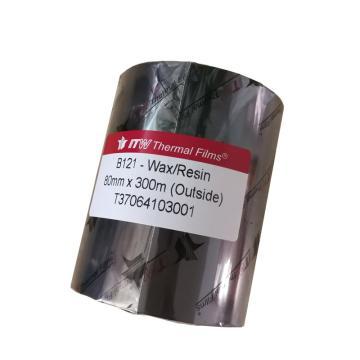 依工(ITW) B121 80mm*300M 混合基碳带