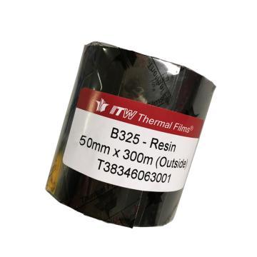依工(ITW) B325 50mm*300M 树脂基碳带