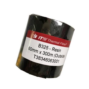 依工(ITW) B325 60mm*300M 树脂基碳带