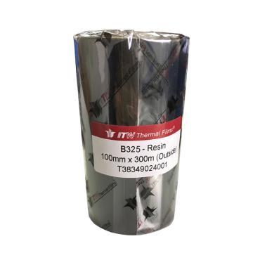 依工(ITW) B325 100mm*300M 树脂基碳带