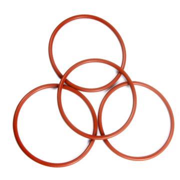 西域推荐 O型圈 硅橡胶 70(SHORE-A) 红色 10.50X1.00
