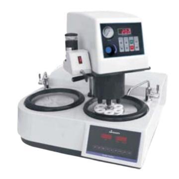 中旺量仪全自动金相磨抛机,盘径254mm,2个工作盘,GP-2000A